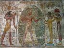 6969 - NW-wand tweede zaal tempel van Ramses II uit Derr - New Amada