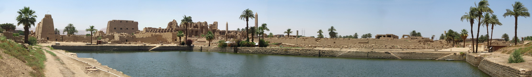Panorama Heilig meer - Karnak