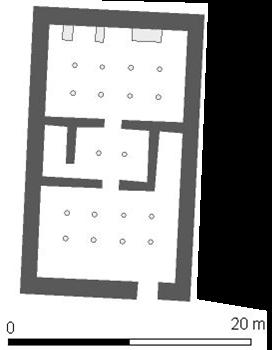 Plattegrond van het Hebsed complex